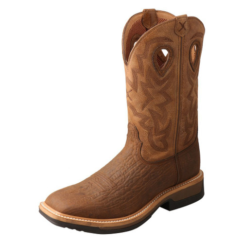 "Men's 12"" Western Work Boot - MLCCW05 image 1"
