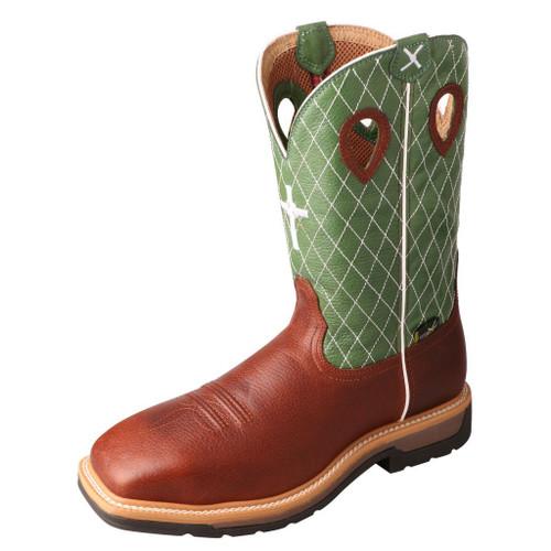 """Men's 12"""" Western Work Boot - MLCSM01 image 1"""