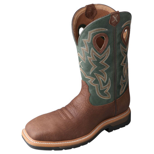 "Men's 12"" Western Work Boot - MLCSW01 image 1"