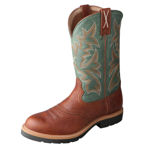 "Men's 11"" Western Work Boot - MSC0005 image 1"