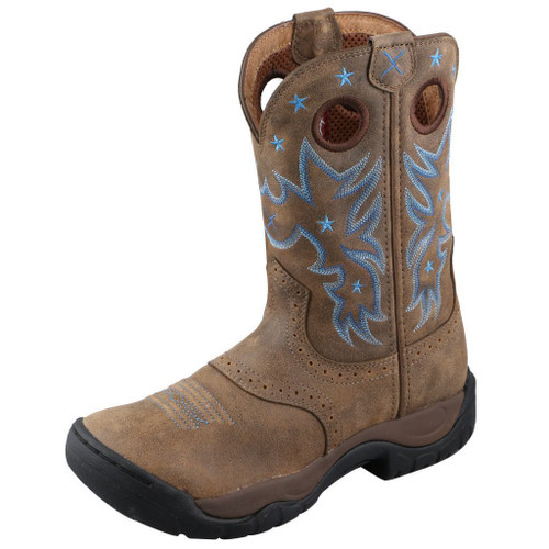 "Women's 9"" All Around Work Boot - WAB0004 image 1"
