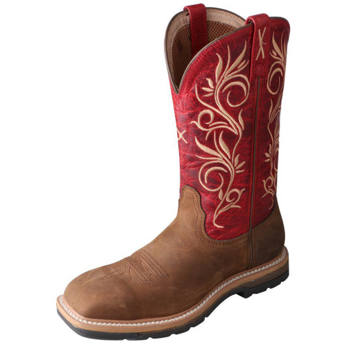 "Women's 11"" Western Work Boot - WLCS003 image 1"