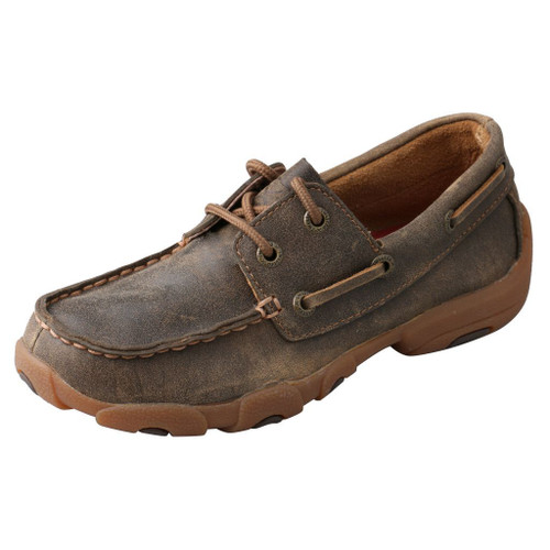 Kid's Boat Shoe Driving Moc - YDM0002 image 1