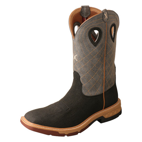 "Men's 12"" Western Work Boot - MXB0002 image 1"