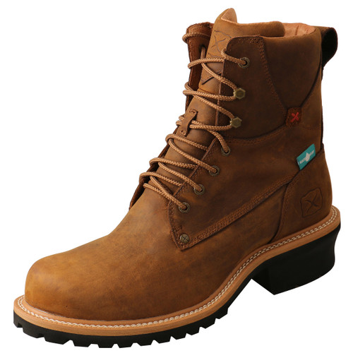 "Men's 8"" Logger Boot - MLGCW03 image 1"