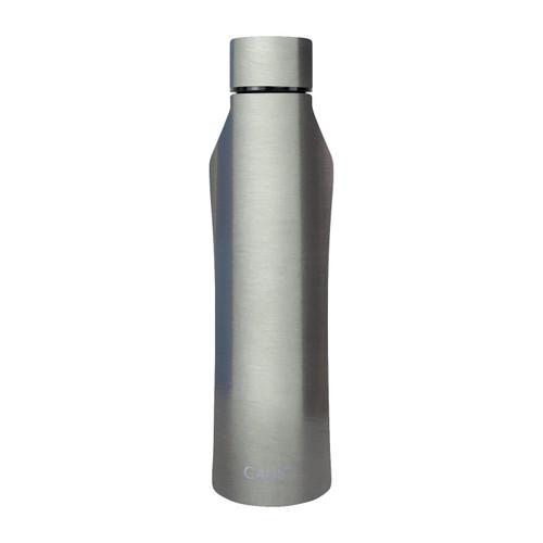 Stainless Steel Bottle - Gunmetal on white background