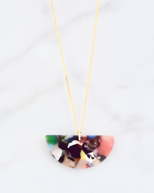 Lucy Multi Necklace on white background
