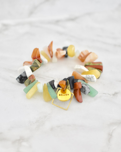 Bloomer Bracelet - Mix Up on marble background