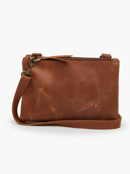Martha Snap Crossbody - Whiskey