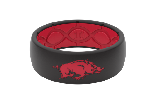 Arkansas Razorbacks Collegiate Silicone Rings