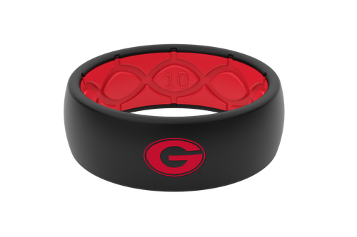 Georgia Bulldogs Collegiate Silicone Rings