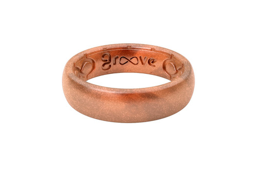Copper Groove Silicone Rings