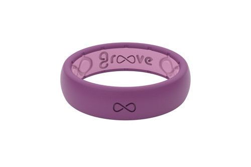Lilac Silicone Rings