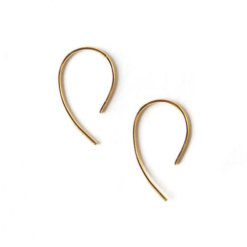Ollie Earrings - Gold