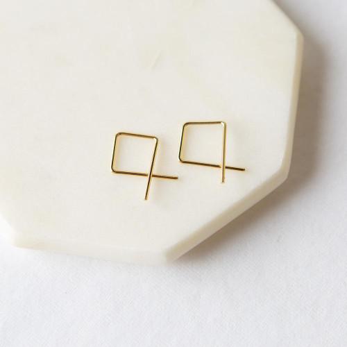 Andsley Earrings - Gold