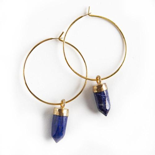 Berklee Earrings - Lapis Lazuli