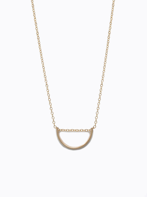 Arch Necklace - Gold