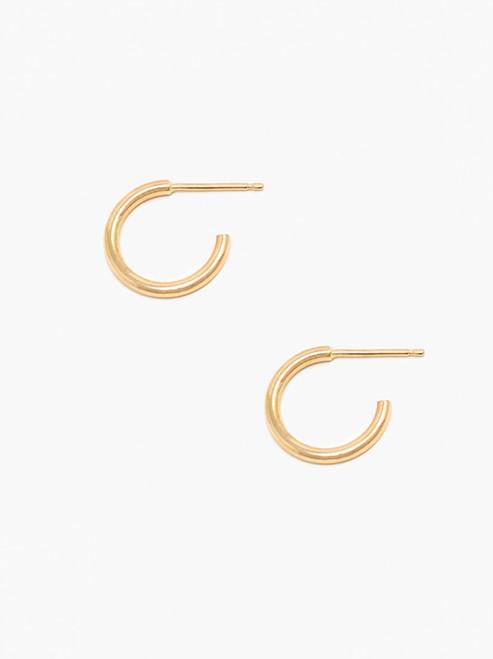 Celine Huggie Hoops - Gold