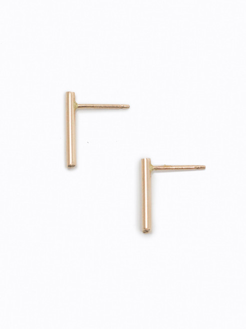Stick Earrings - Gold