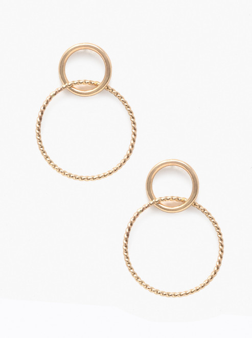 Virgil Earrings - Gold