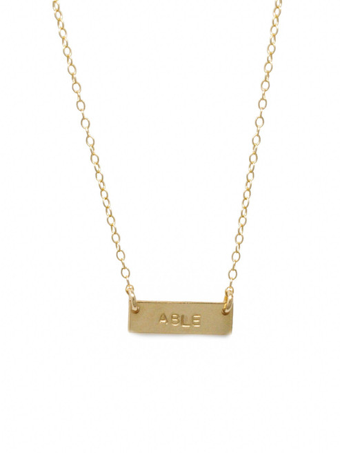 She Is ABLE Vista Necklace