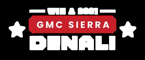 Win a 2021 GMC Sierra