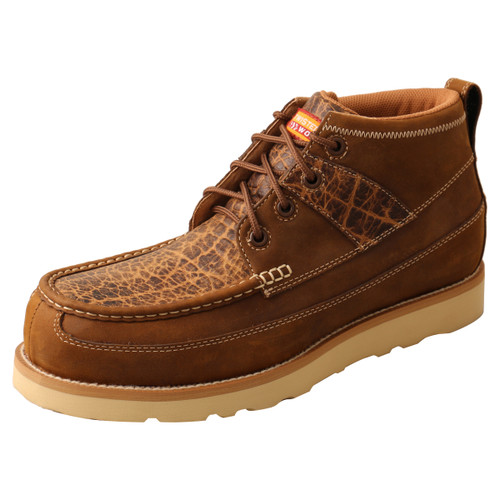 "Men's Work 4"" Nano Toe Wedge Sole Boot - MCAN002"