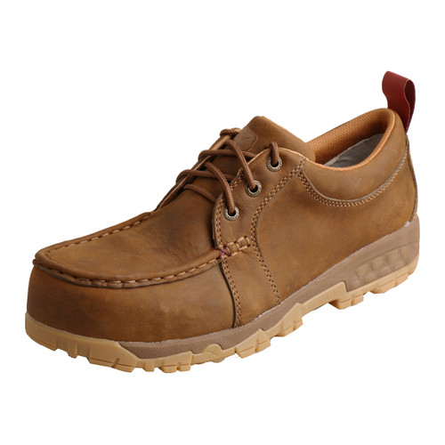 Women's Work Comp Toe Boat Shoe Driving Moc with CellStretch¨ - WXCC002