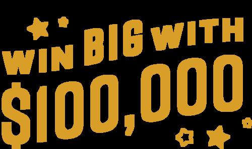 $100,000 Cash Giveaway - June 2020