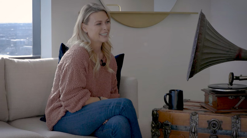 Amber Smith on 'Bringing Good From Loss' [WATCH]