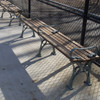 Crotona Park Backless Bench with Armrests