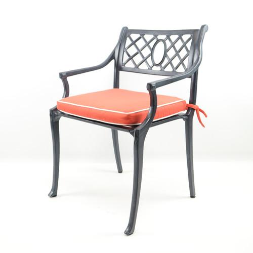 Lattice Back Arm Chair