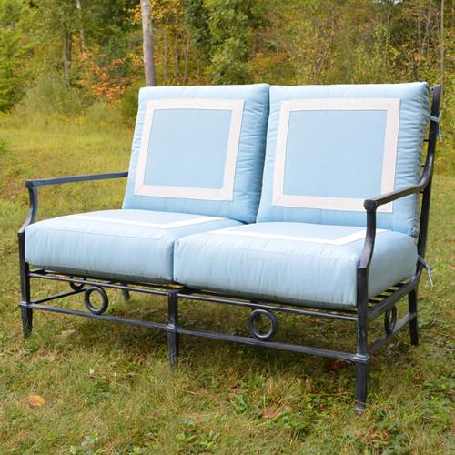 Neoclassical Grand Sofa Two Seats
