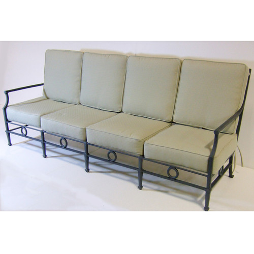 Neoclassical Grand Sofa Four Seats