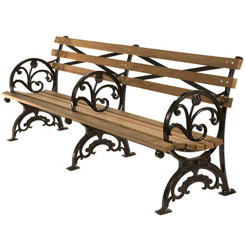 1939 World's Fair Bench with Ornamentation
