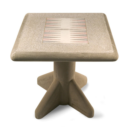 Concrete Freestanding Chess Table