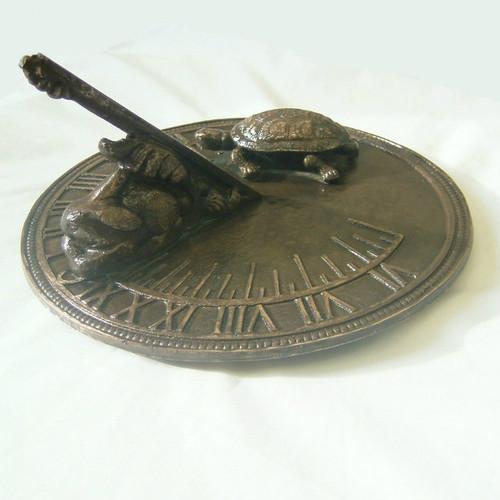 Hare and Tortoise Sundial