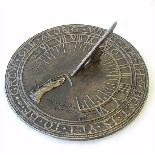 Father Time Sundial
