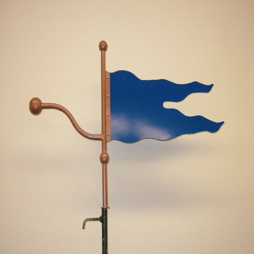 Ball and Banner Weathervane