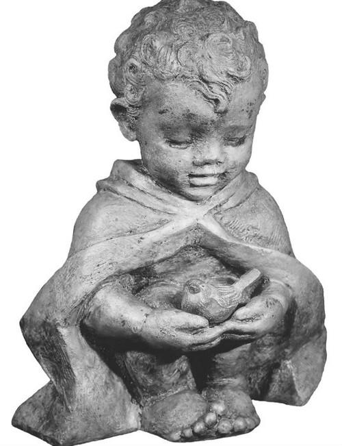 Cast stone Gazing Figure