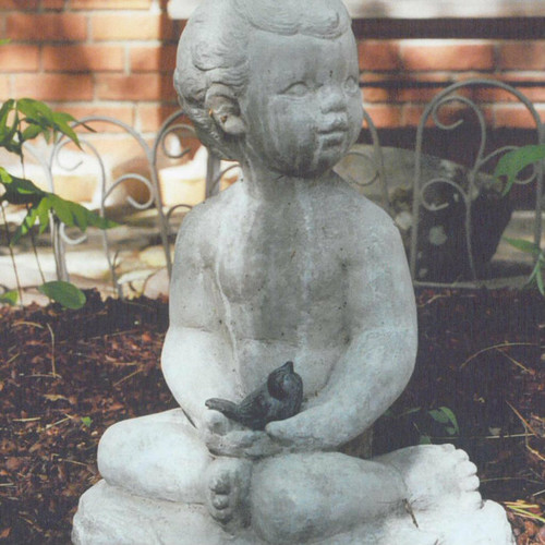 Cast stone Gazing Figure