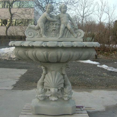 Italianate Cherub Fountain
