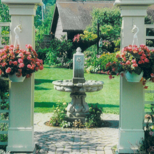 Self contained Finial Fountain