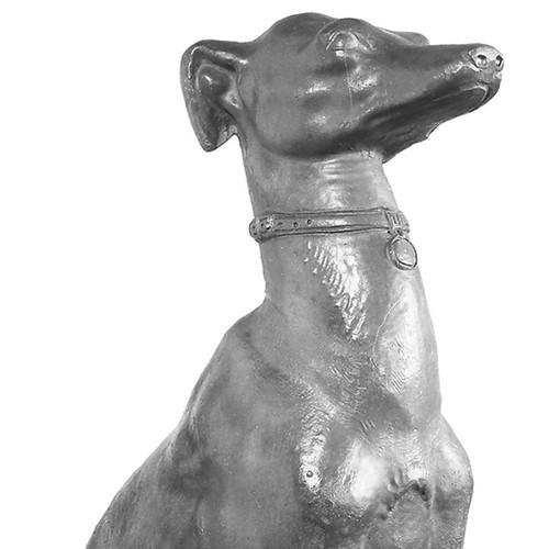Seated Greyhound