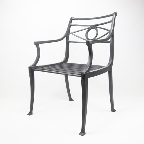 Quick Ship - Neoclassical Arm Chair
