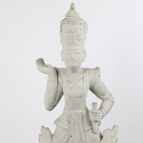Cambodian Temple Figure
