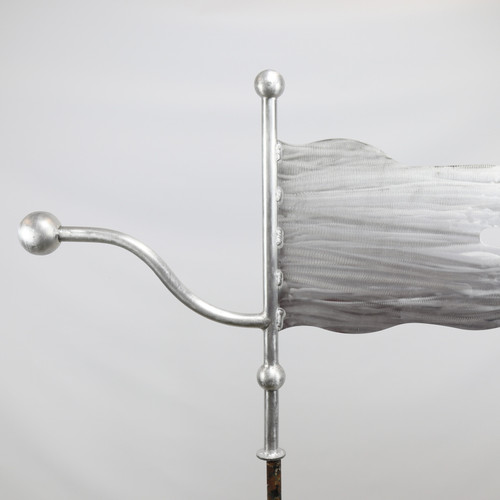 Quick Ship - Ball and Banner Weathervane