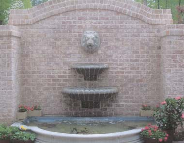 Classic wall fountain for any setting