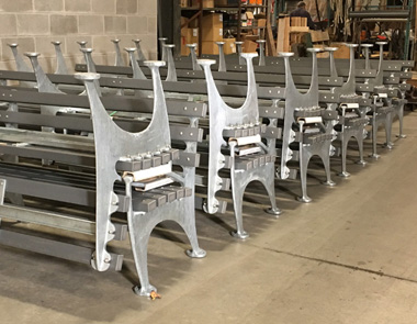 Large Bench delivery coming up