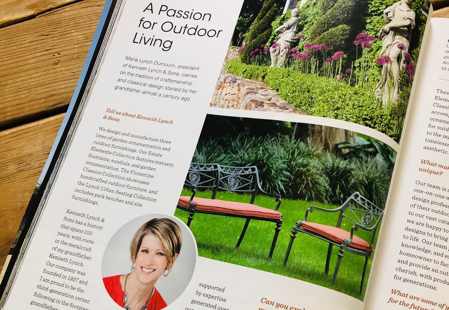 Kenneth Lynch & Sons featured in Charleston Home + Design Magazine